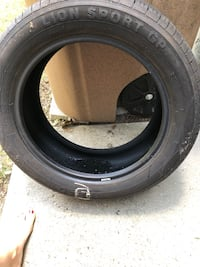 Brand new VW Jetta tire