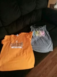 orange and white crew-neck t-shirts Morristown, 37813
