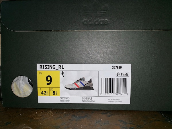 sports shoes 72157 93880 Mens size 9 adidas rising star xr1