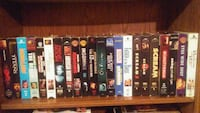 VHS movies lot for only $20-i need gone please London, N5W 4V7