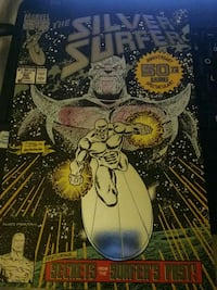 '91 silver surfer 50th issue