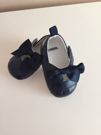 pair of black leather mary jane shoes Vaughan, L4J 8N8