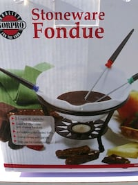 Fondue set  Shirley, 11967