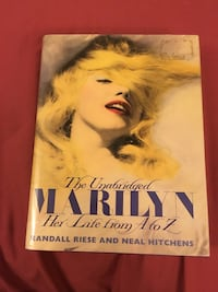 Marilyn Monroe hardcover book with pictures  Waterloo, N2L 1W4