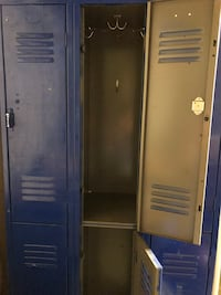 Lockers - many uses, paint and make your own. One lock does need to be replaced. Etters, 17319