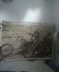 Easy rider poster  Los Angeles, 91364