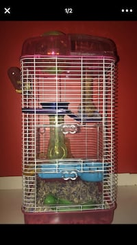 blue and white pet cage Rockville, 20854