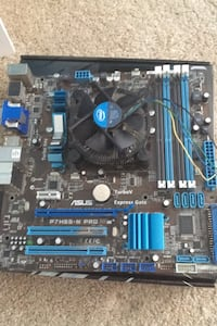 Motherboard and graphics card