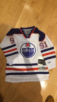 Edmonton Oilers #91 Jersey NEW- youth size L/XL Mississauga, L5V 1J3