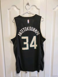 Giannis Antetokounmpo Milwaukee Bucks Statement NBA Jersey Large Winnipeg, R3Y 0B7