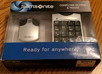 Samsonite keypad mouse and USB cube NEW Grove City, 43123