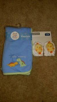 New Baby Blanket and Mittens Bolingbrook, 60440