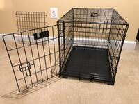 Pet crate with divider and cover Clarksburg, 20871