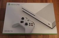 white Xbox One game console box 500gb new sealed