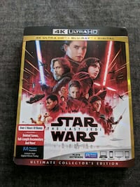 Star wars the last Jedi UHD Blu-ray