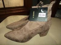 Brand New Taupe Boot