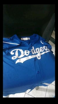 blue and white Dodgers jersey shirt Perris, 92571