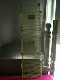 3-tiered Wall Mounted Basket