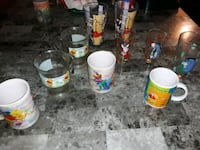 10pc Winnie the pooh collection of glasses Sioux Falls, 57103
