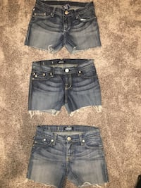 Rock & republic jean shorts
