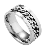 Mpu only Size 11 Men's ring in stainless steel San Antonio, 78227