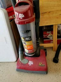 red and black Dirt Devil upright vacuum cleaner Las Vegas, 89113