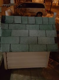 green and brown pet kennel Milton, L9T 6N3