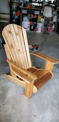 Custom made foldable Muskoka chair