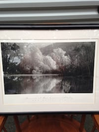 white and black wooden framed painting Norton, 02766