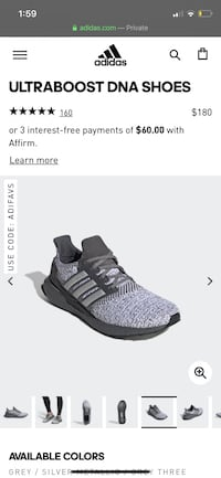 Adidas Ultraboost DNA shoes