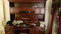 brown wooden cabinet with hutch Silver Spring, 20906