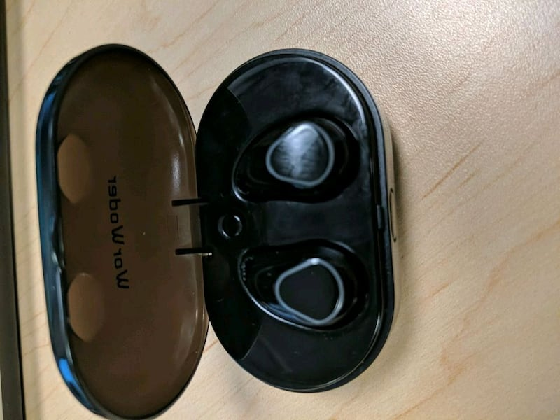 Ear buds and charging case  d187efa2-9108-4314-816e-8bf83c60fd1f