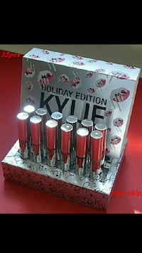 Kylie Holiday Edition matte liquid lipstick set