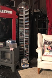 Compact disc tower
