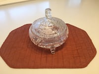 Vintage cut glass covered serving bowl Aspen Hill, 20853