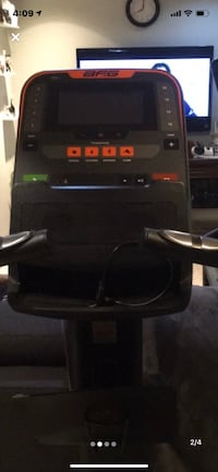 Exercise bike almost brand new 4 months old with led screen.  Vaughan, L4J 4X2