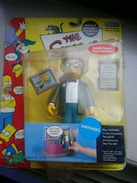 The simpsons smithers action figure