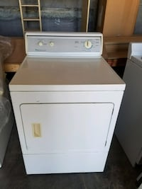 White front-load clothes dryer Midland, 79701