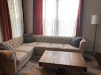 brown and white sectional sofa Reston, 20191