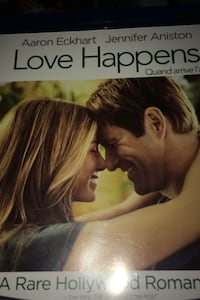 blue ray disk Love Happens Abbotsford