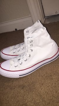 pair of white Converse All Star high-top sneakers Odessa, 79763