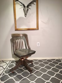 Mid~Industrial Style Swivel and Rocking Chair 3155 km