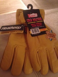 Cowhide leather gloves Mineral, 23117