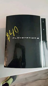 black Sony PS3 game console Los Angeles, 90044