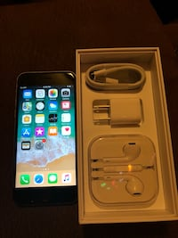 Unlocked space gray iphone 6s 64gb like new