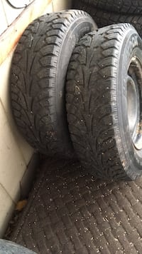 P215/ 75R15  $150 Winter tires