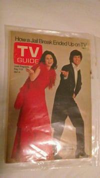 Vintage Donny and Marie Osmond on TV Guide Cover!