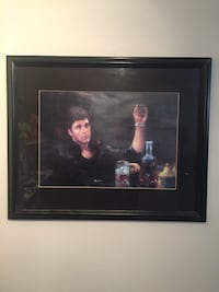 ScarFace framed picture  Bolton