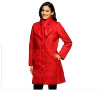 Isaac Mizrahi quilted beautiful red coat Nokesville, 20181