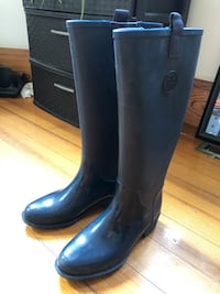 Tommy rain boots size 7.5 women'sshoes